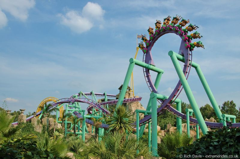 Gold Reef City Thrill Rides