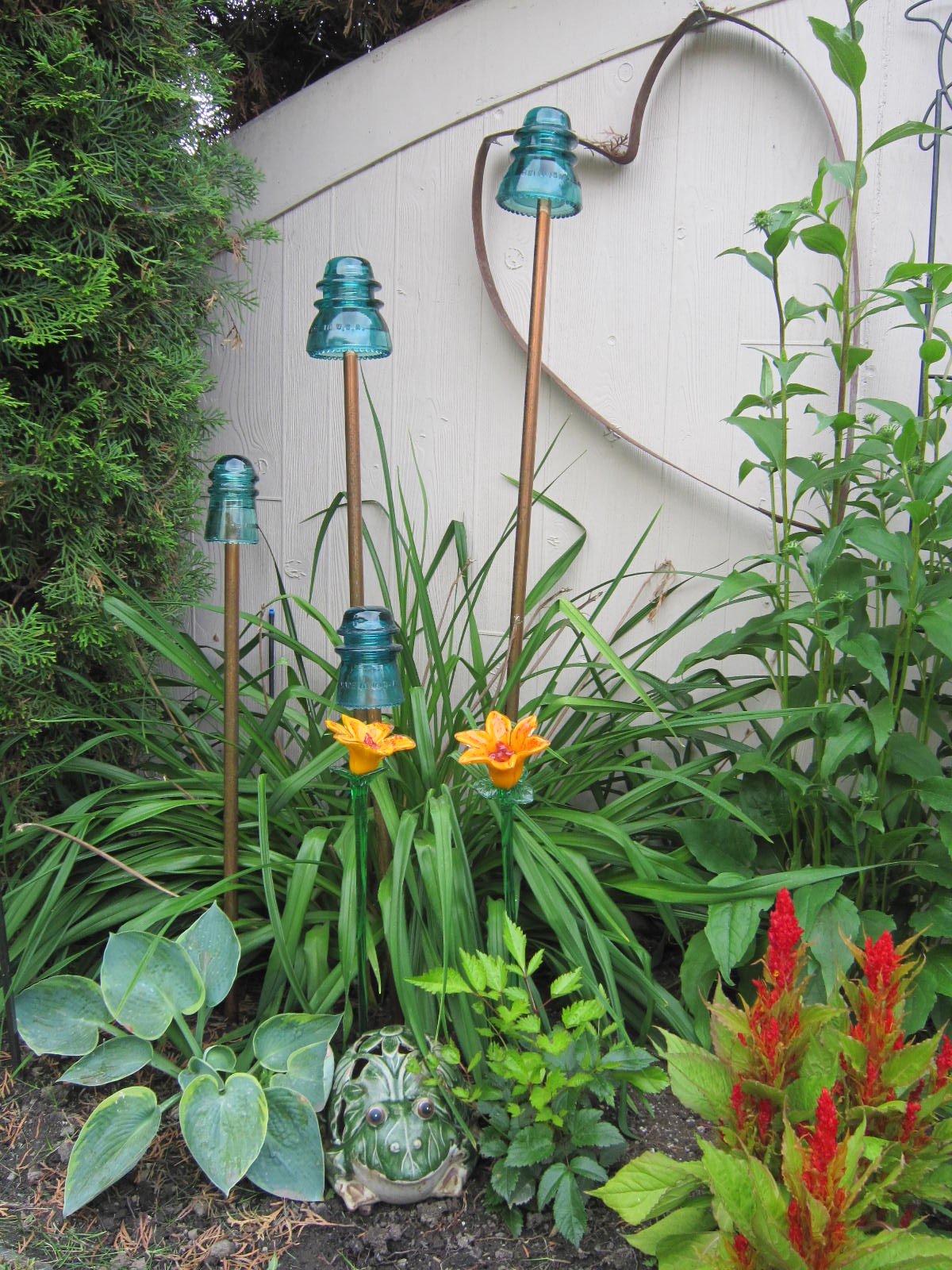 Dishfunctional designs the upcycled garden volume 2 for Unique yard decorations
