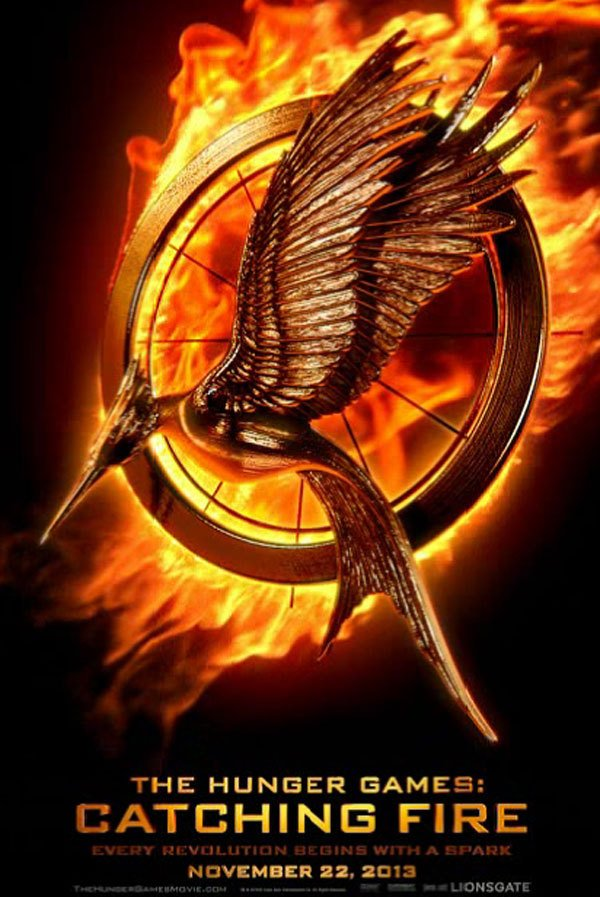 catching fire movie poster katniss