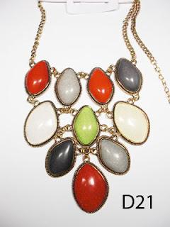 kalung aksesoris wanita d21