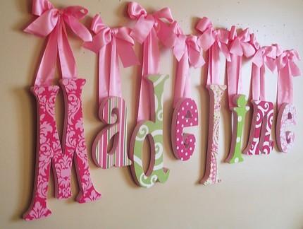 Aprenda a fazer letras 3d montando minha festa - Ideas para decorar letras de madera ...