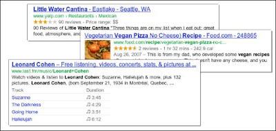 Google Webmaster Rich Snippet
