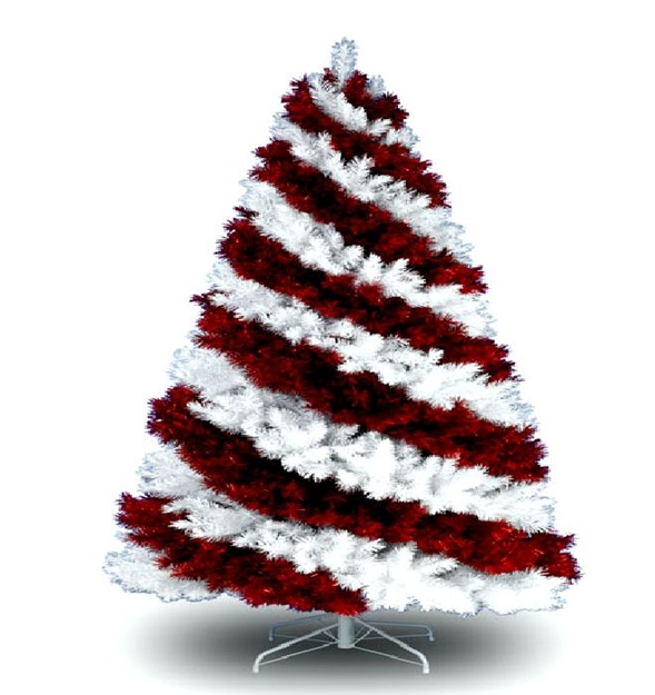 decora y disena: Árboles de Navidad Artificiales en Colores