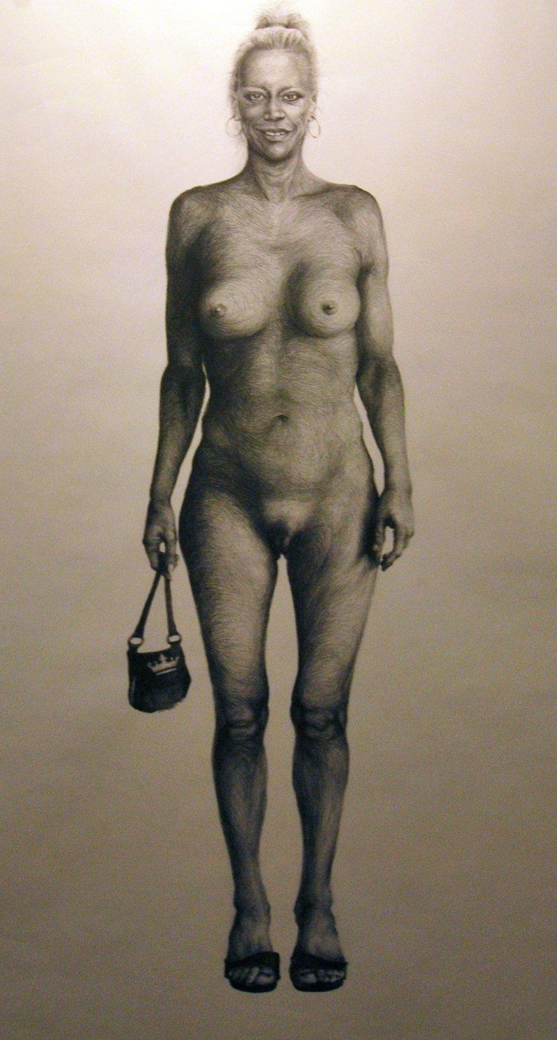 La Tertuliana Fue Pintada Desnuda Por El Pintor Steve Gibson