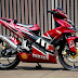 Modifikasi Motor Jupiter MX Body Custom