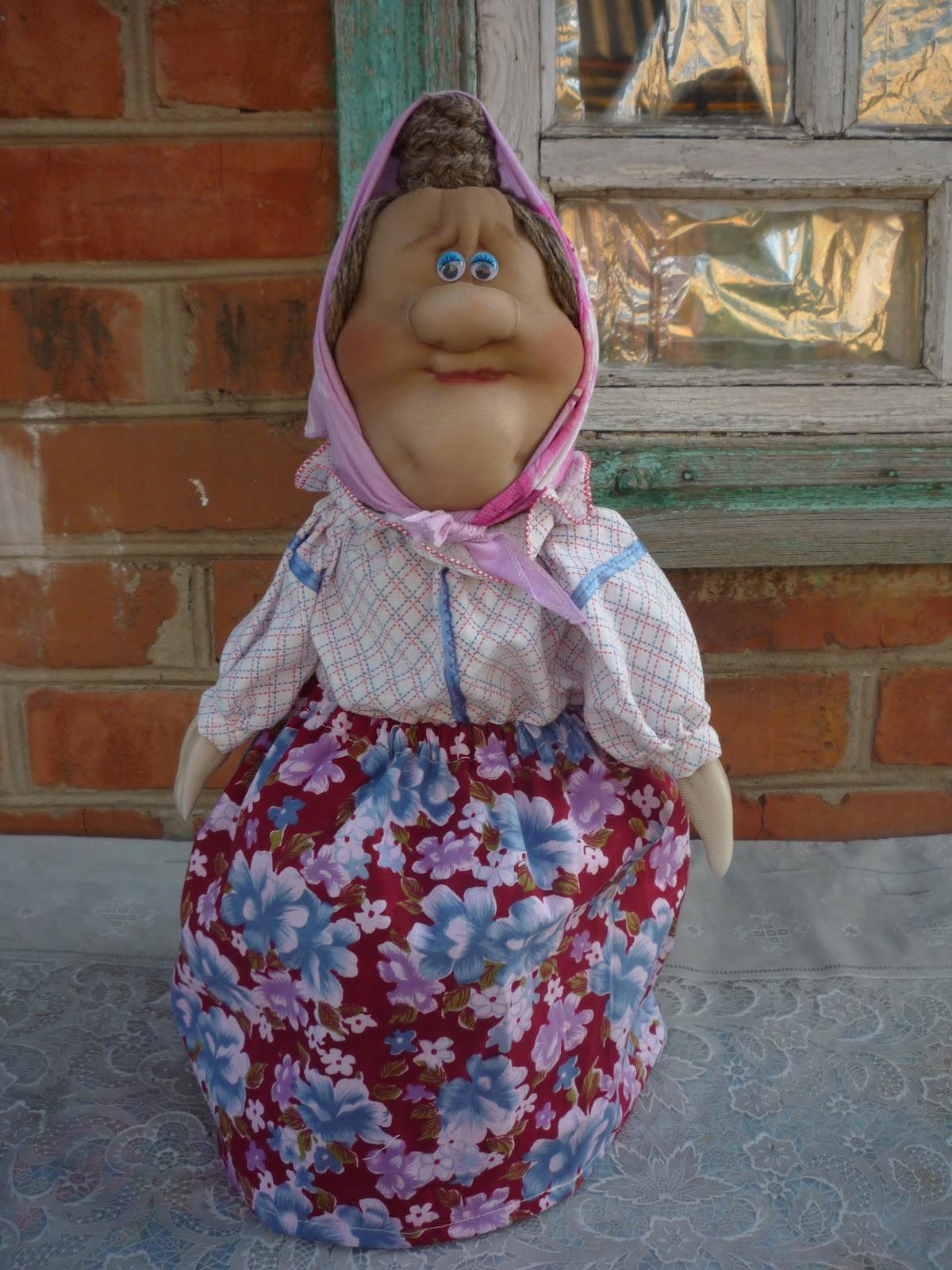 Как сделать большую куклу из капроновых колготок