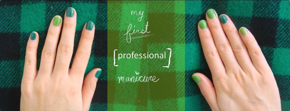 OPI Jade is the new black and OPI Greenwich Village