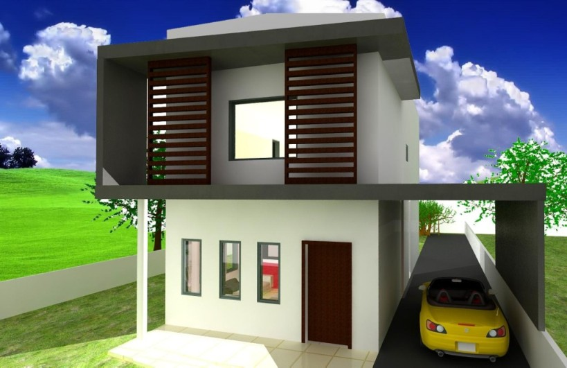 modern stylish latest homes exterior designs cyprus - Stylish Home Design