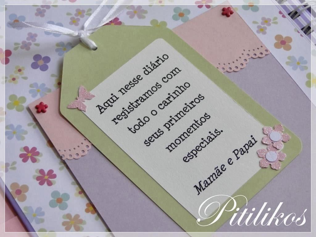 Diário do Bebê - Borboletas