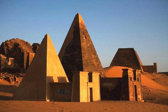 Piramides Meroe