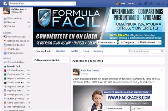Publica Gratis en Facebook