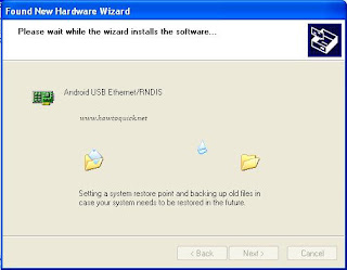 Android USB Ethernet/RNDIS