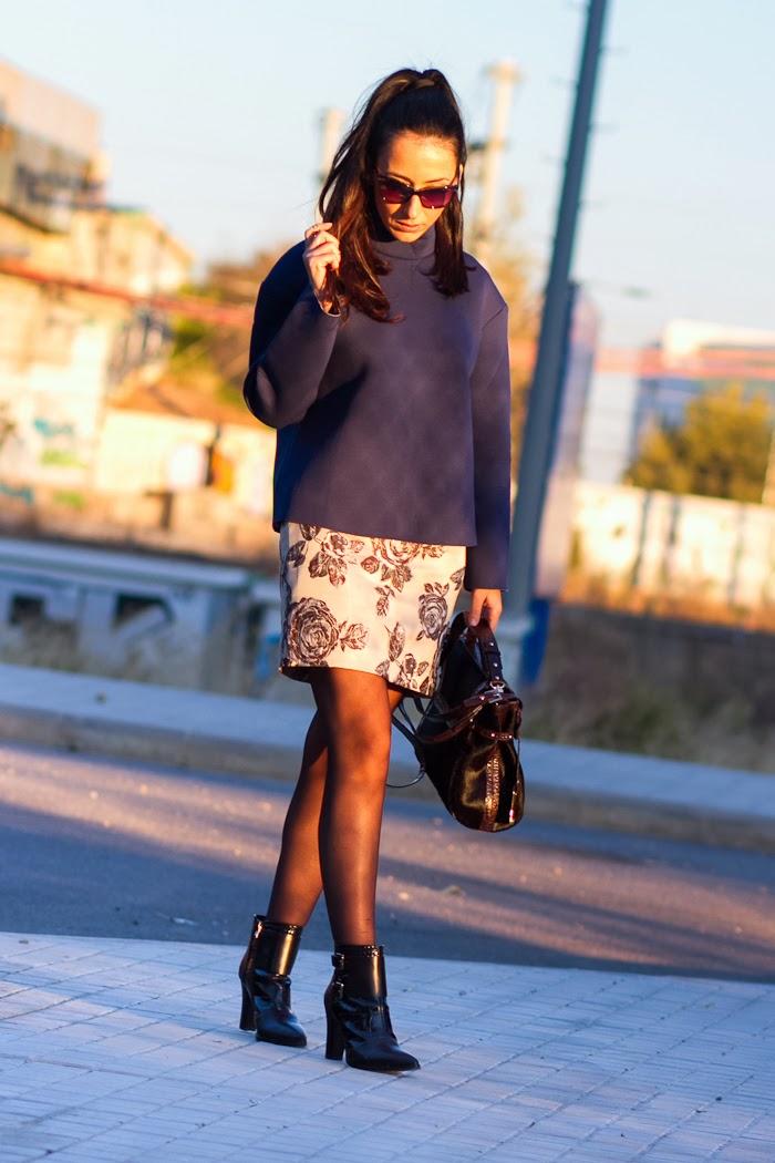 Blogger de Moda de Valencia con prenda de neopreno