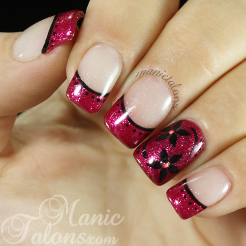 Manic Talons Nail Design Fun With Nfc Nail Light Stickers