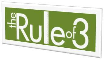 The comedy Rules-of-Threes