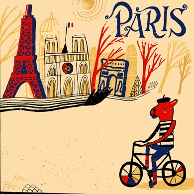 http://www.istockphoto.com/vector/french-bulldog-cycling-through-the-paris-in-france-51147006