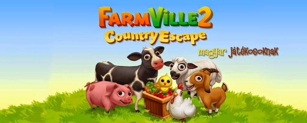 Farmville 2 - Country Escape - magyar játékosoknak