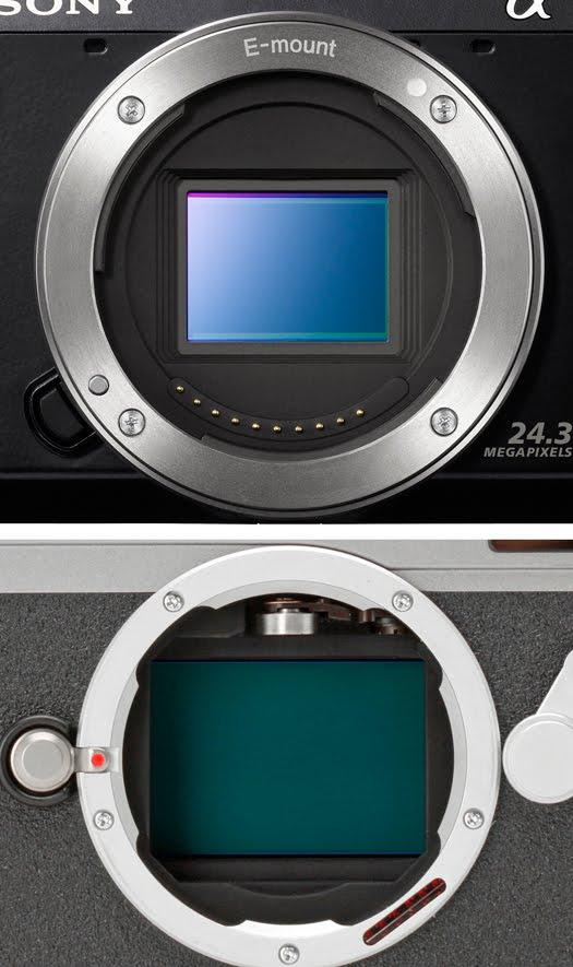 sony nex-7 vs leica m9