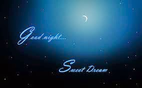 Good Night Sweet Dream Sms