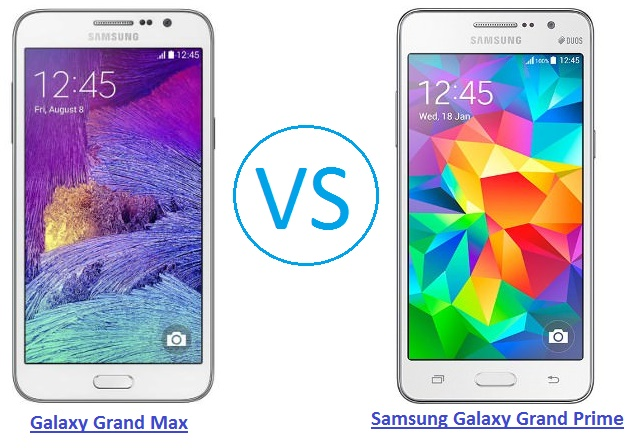 Samsung Galaxy Grand Prime 4G Vs Galaxy Grand Max