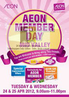 AEON member Day Mid Valley