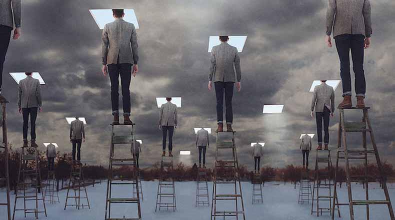 Mundos de ensueño surrealistas cobran vida en imaginativo series de fotos
