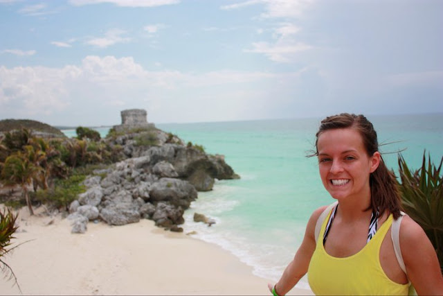 ruins at tulum beaches