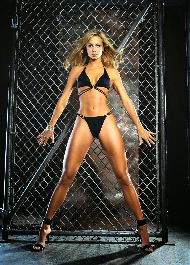 Stacy Keibler has incredibly hot legs