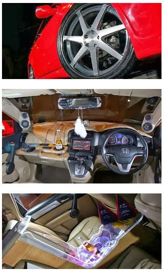 Modification Honda CR-V with Style Simple and Elegant Style 2