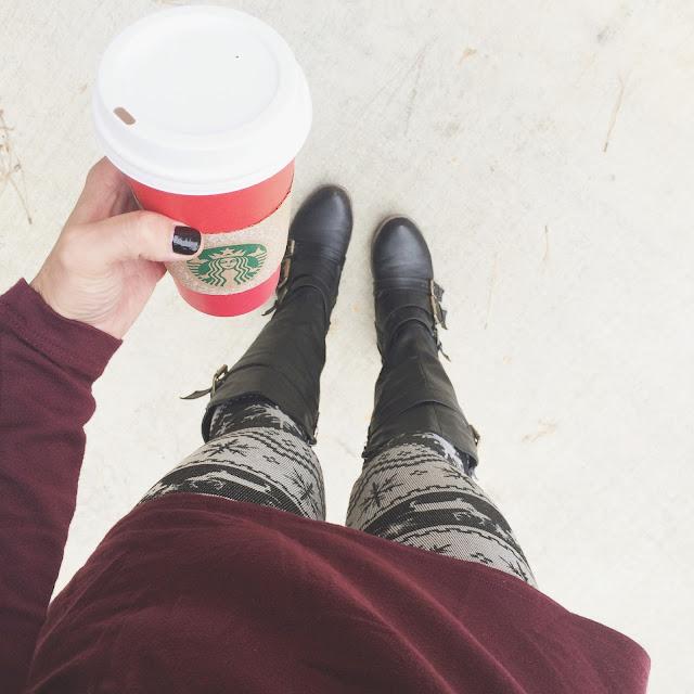 Stilettos and Diapers: Reindeer Leggings