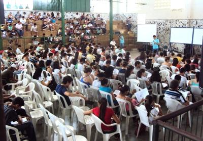 Aulões para o vestibular da UERN atraem centenas de estudantes