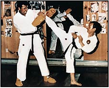 "MOHAMMED ALI'S ""GREATEST""  ATTRACTION IN TAEKWONDO"