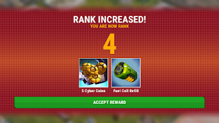 transformers earth wars rank increase