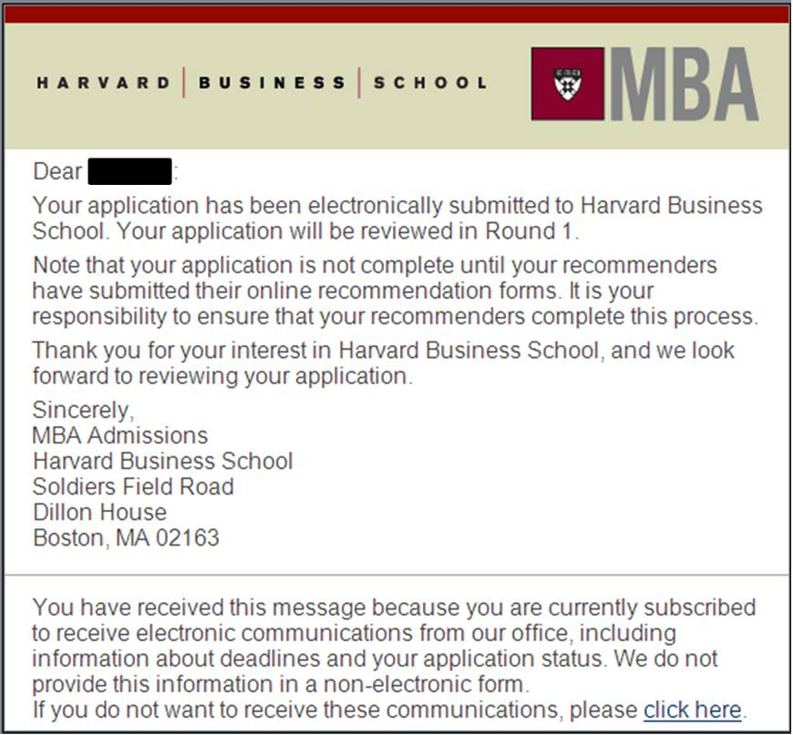 Mba Admission Essays: WHAT?!!: Reflection On HBS Application