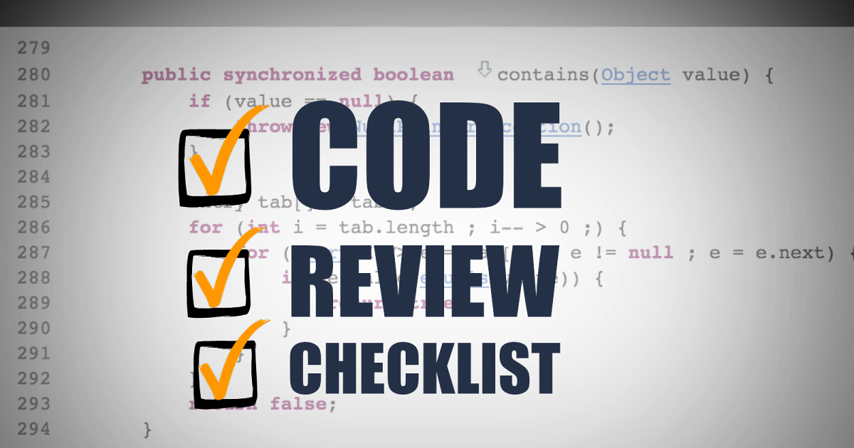 22 Point Code Review Checklist & Process Guidelines   FromDev