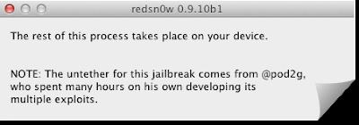 Redsn0w 0.9.10b1