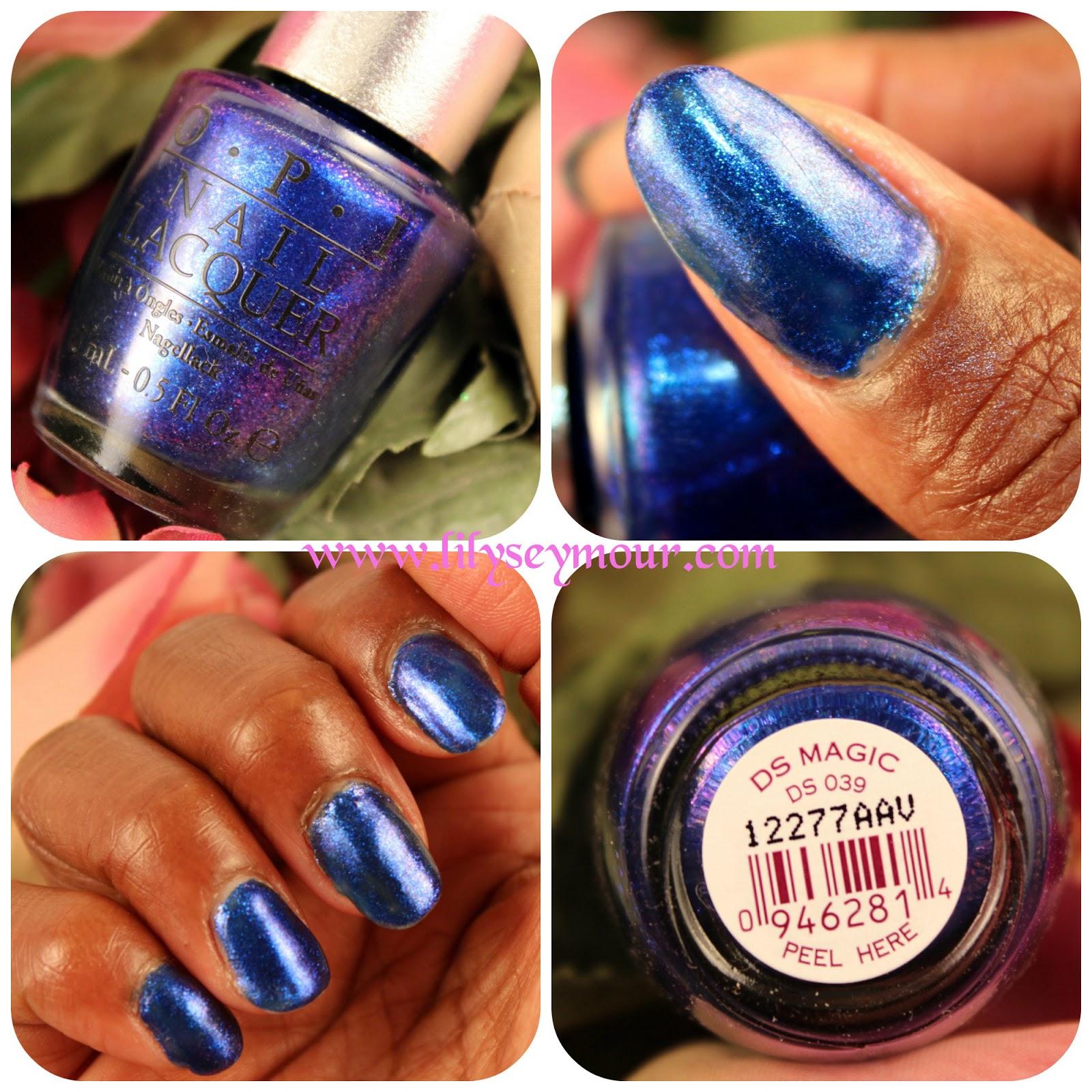 Fun Fierce Fabulous Beauty Over 50!: Nails ~ OPI\'s DS Magic Nail Polish