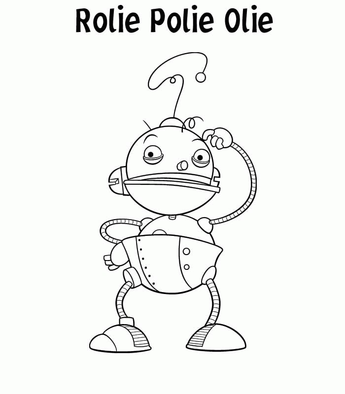 Free Rolie Polie Olie Coloring Pages