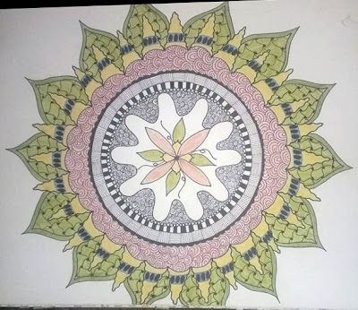zendoodle, mandala, zentangle