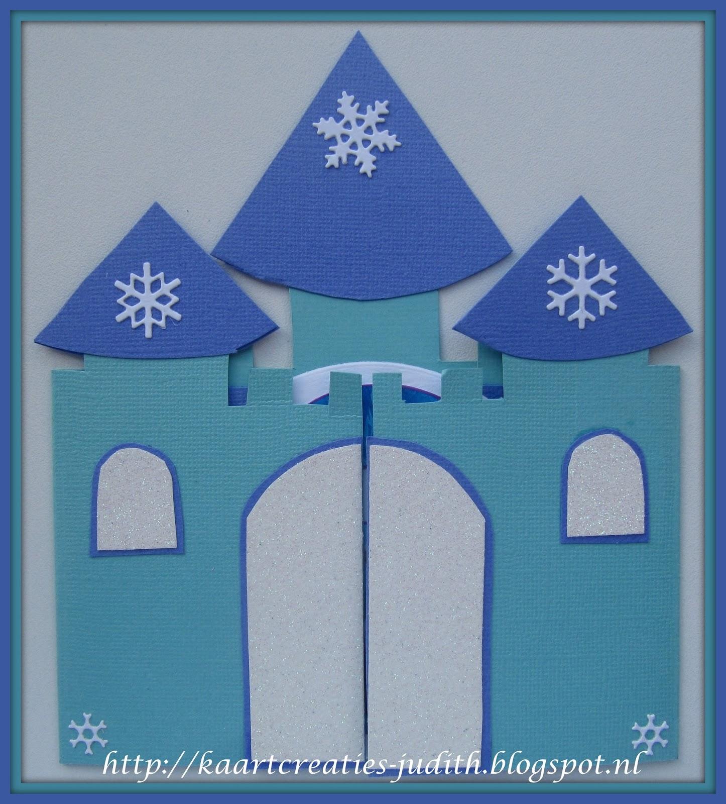 Kaarten En Creaties Van Judith Frozen Kasteel