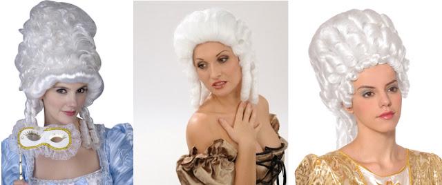 au temple des modes comment faire une coiffure ann es 1780 avec une perruque 1 le mat riel. Black Bedroom Furniture Sets. Home Design Ideas