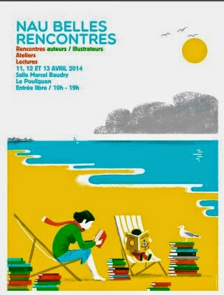 Nau Belles Rencontres, Le Pouliguen - 11, 12 et 13 avril 2014 (+ d'infos)