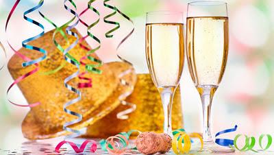 imagen navidad+ brindis +año nuevo