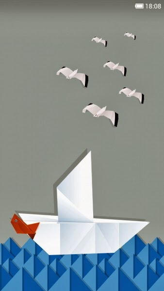 Xiaomi MIUI - Origami Theme