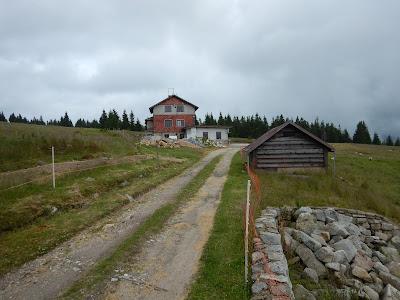Novopacká bouda v Krkonoších