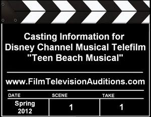Disney Channel Casting Teen Beach Musical
