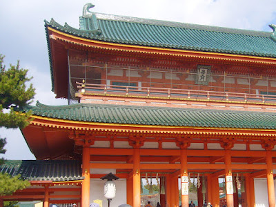 京都初詣ウォーキング・平安神宮