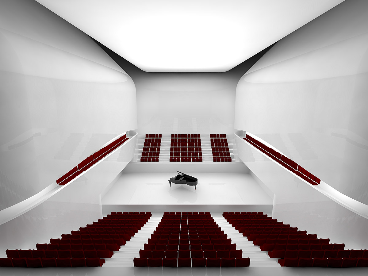 Mashouf performing arts center at san francisco state for Space architecture