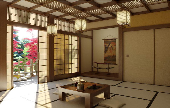 Taka 39 s japanese blog traditional japanese housing for Decoration chambre thailandaise