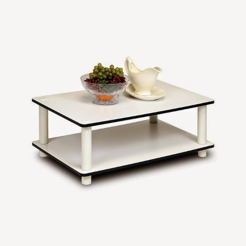 Furrino JUST 2-Tier No-Tools Cofee Table for Sale